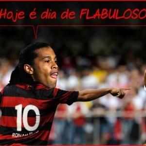 Charge coloca Ronaldinho falando que o dia foi