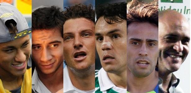 Jogo na Vila não terá Neymar, Ganso, Elano, Kleber, Valdivia, Marcos, entre outros