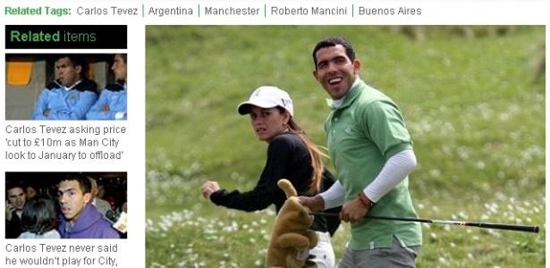 Carlos Tevez aproveita