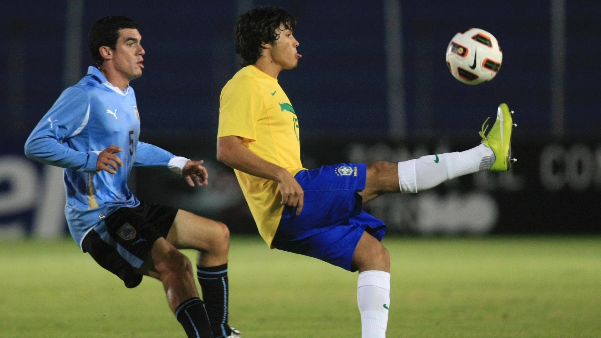 Misael, convocado para a seleção pan-americana, em partida pelo Sul-Americano Sub-17 2011