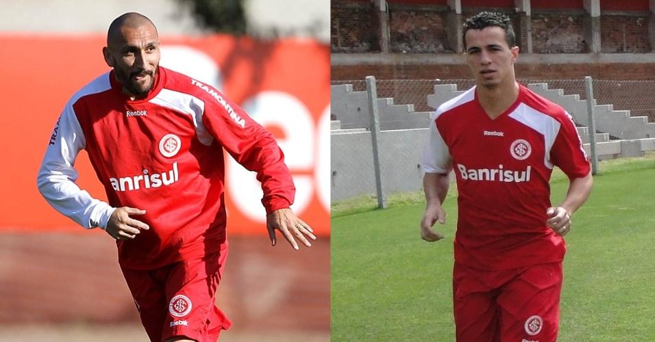 Montagem Guiñazu e Leandro Damião do Inter (26/10/2011)