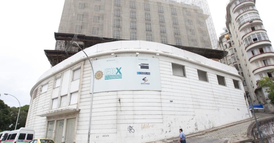 Hotel Glória, em reformas para a Copa do Mundo