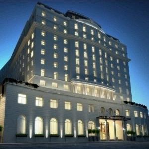 Imagem de como ficará o Hotel Glória após a reforma