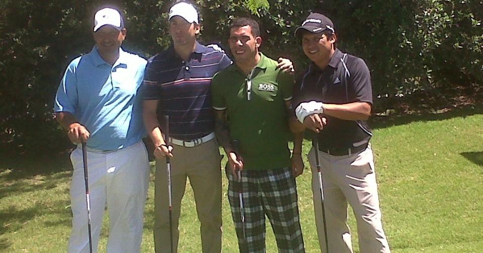 Tevez disputa e vence torneio de golfe em Buenos Aires (19/11/2011)