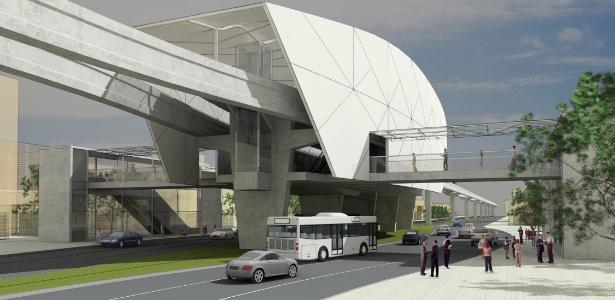 Monotrilho de Manaus; pelo contrato assinado pelo Estado, obra poderá ser entregue no meio de 2015