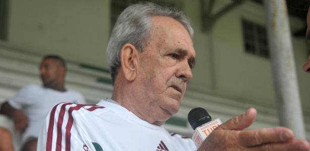 Antônio Castilho voltou às Laranjeiras depois de 25 anos de ausência