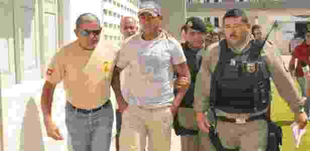 Marcelinho Paraíba é detido pela polícia após sofrer acusação de tentativa de estupro - CHICO MARTINS/FUTURA PRESS/AE