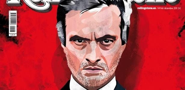 Jose Mourinho é capa da Revista Rolling Stone