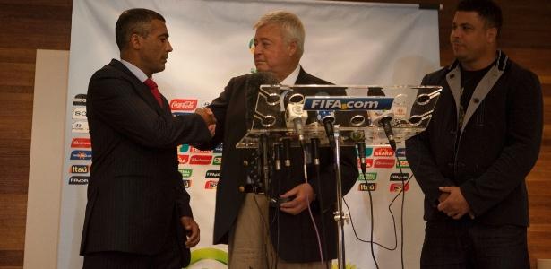 Para o deputado federal Romário, Ronaldo traz credibilidade ao comitê da Copa