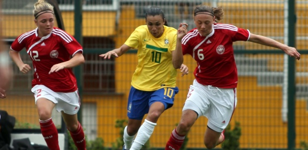 Marta atualmente no Tyreso, da Suécia, é a principal estrela da seleção brasileira