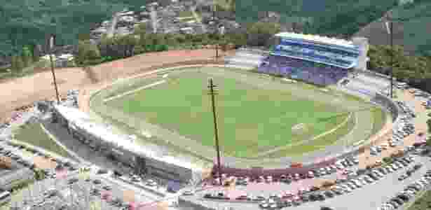 O estádio Montanha dos Vinhedos é o maior patrimônio do Esportivo de Bento (arquivo) - Fabiano Mazzotti/Divulgação
