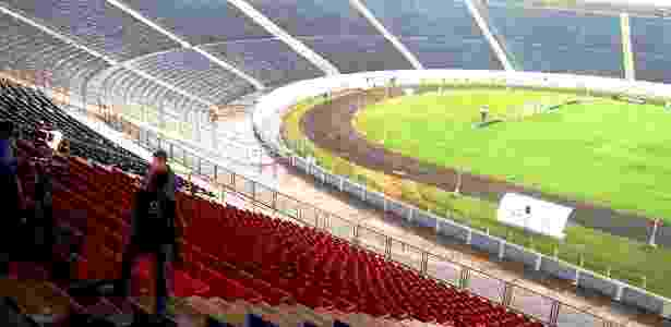 Estádio do Café, em Londrina, receberá América-MG e Palmeiras - Pedro Ivo Almeida/ UOL Esporte