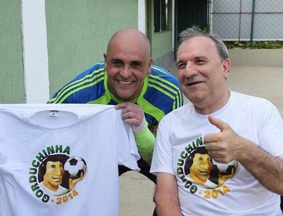 Marcos adere a campanha para batizar bola da Copa de Gorduchinha