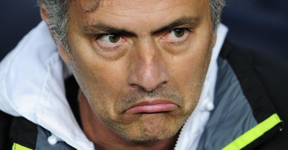 Português José Mourinho, técnico do Real Madrid