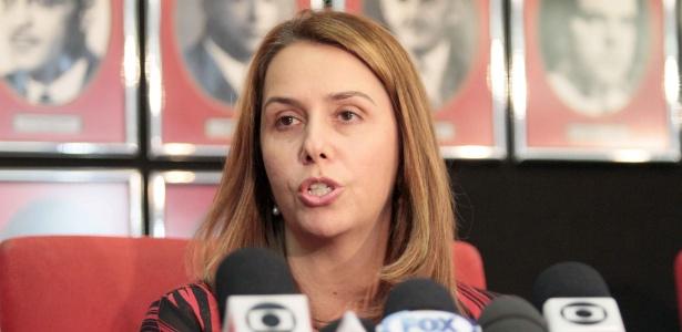 Patricia Amorim emitiu nota para evitar polêmica ainda maior dentro do Flamengo