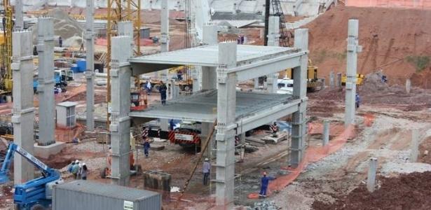 Obras no Itaquerão já estão na metade; concorrência por incentivo começou sábado