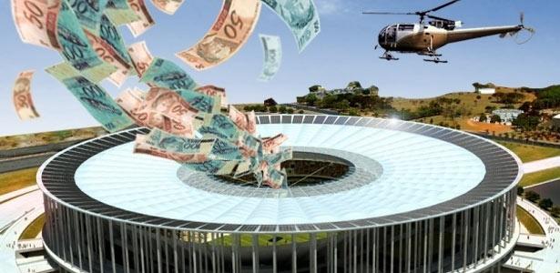 Até agora, estádio público do DF está orçado em R$ 866 milhões; faltam cinco licitações