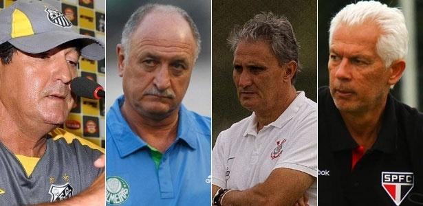 Santos, Corinthians, São Paulo e Palmeiras priorizam Libertadores e Copa do Brasil