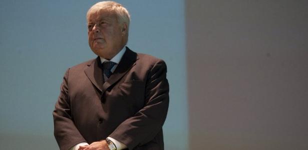 Ricardo Teixeira, que renunciou neste ano depois de comandar a CBF por 23 anos