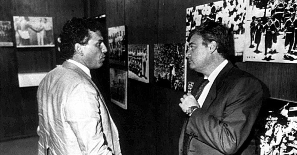 Sebastião Lazaroni e Ricardo Teixeira