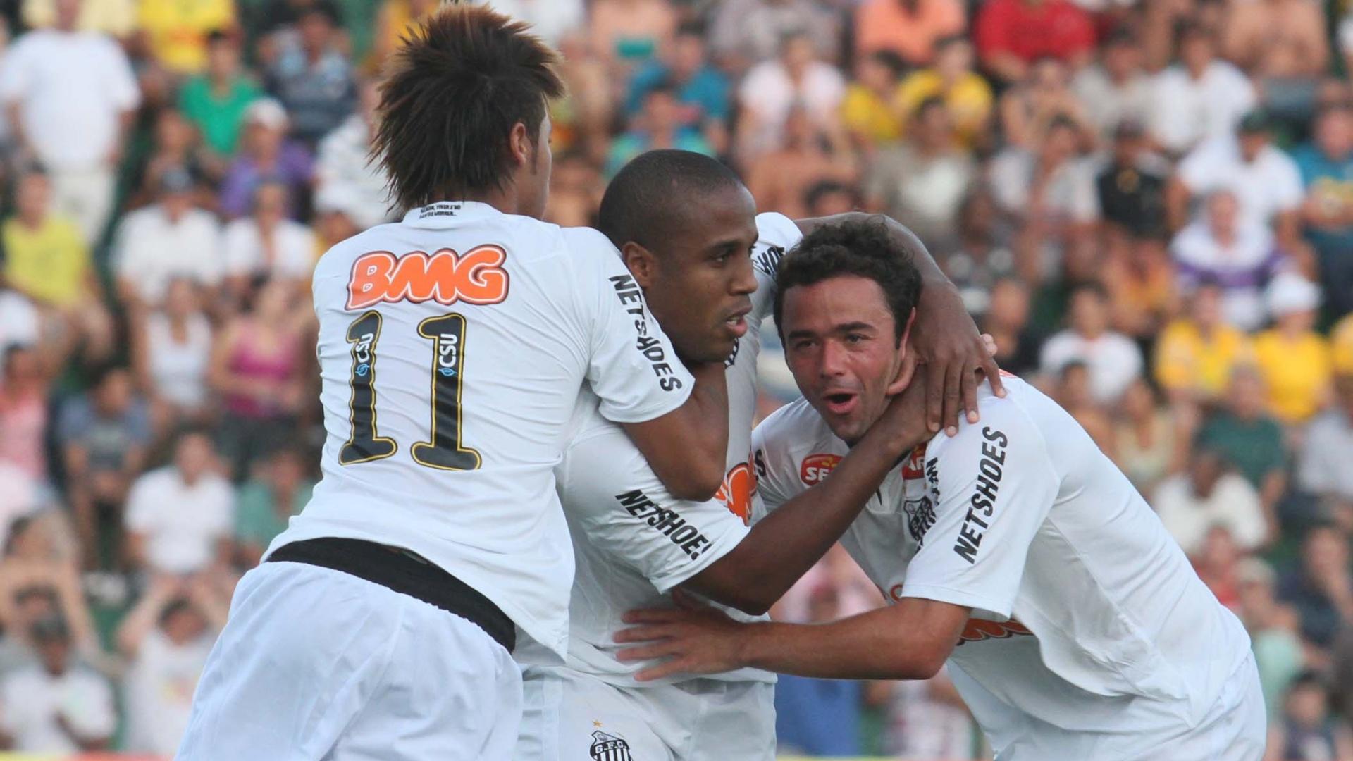 Juan comemora gol marcado diante do Mirassol