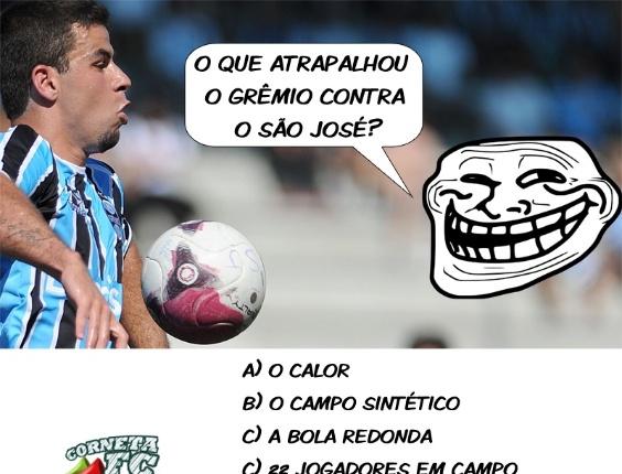 O que atrapalhou o Grêmio contra o São José?