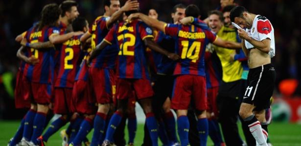Galês foi derrotado em duas ocasiões pelo Barça na final da Liga dos Campeões
