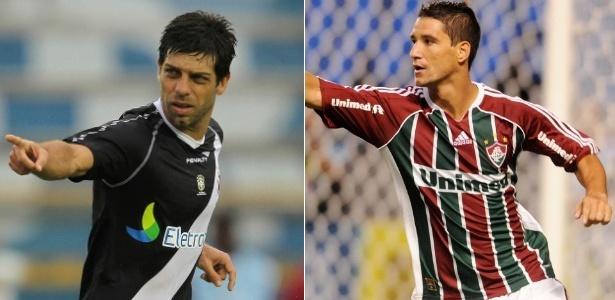 Juninho e Thiago Neves: busca pelo título após retorno aos clubes que se destacaram