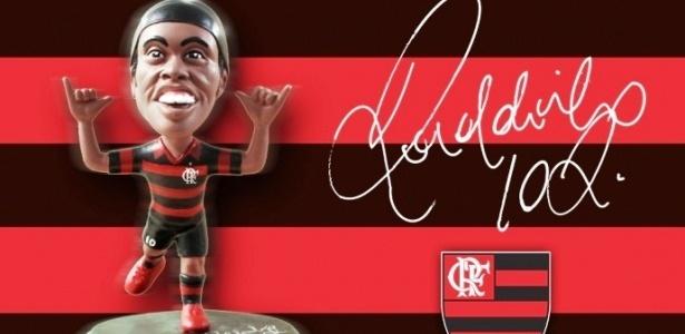 Boneco de Ronaldinho Gaúcho