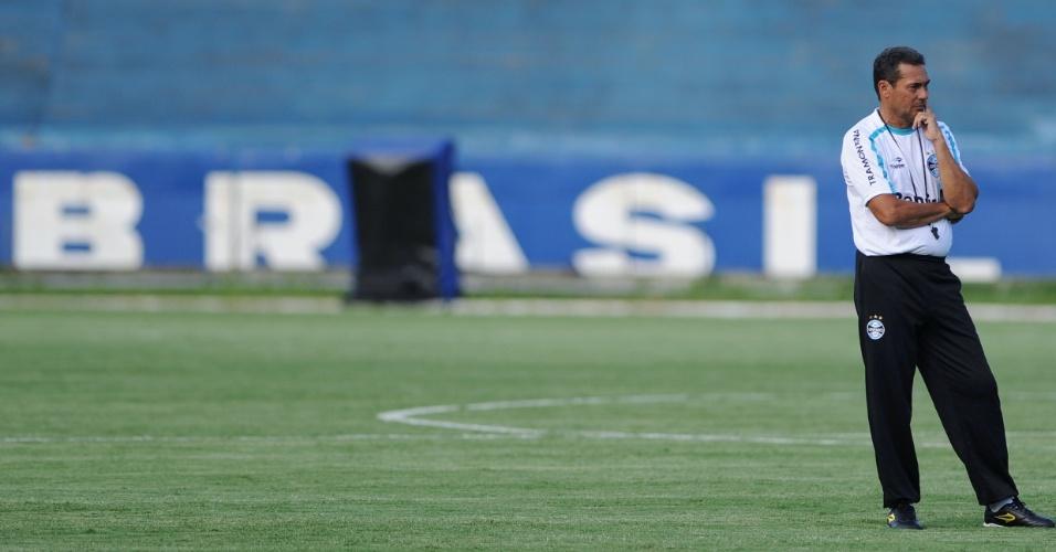Vanderlei Luxemburgo quer mudar a característica do Grêmio nesta temporada