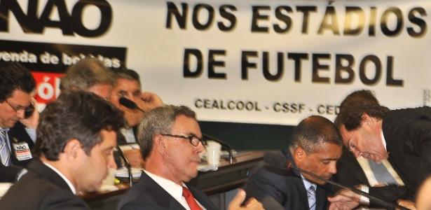 Parlamentares entraram em acordo com o governo para votar Lei Geral da Copa