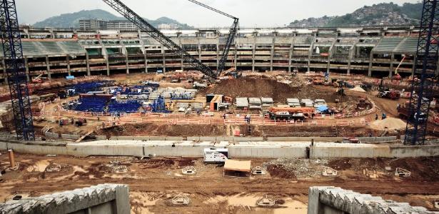 Entrega do Marcanã para a Fifa deve acontecer em fevereiro de 2013