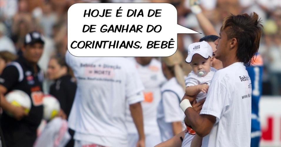 Neymar já sabia desde o princípio: