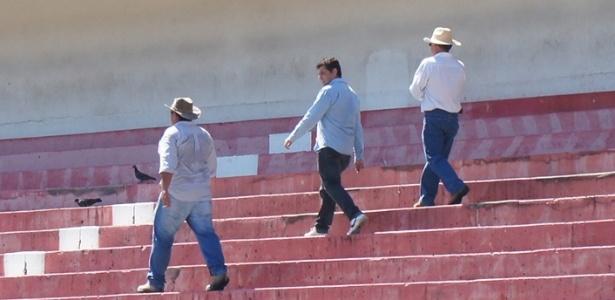 Funcionários da Andrade Gutierrez realizaram novas medições no estádio Beira-Rio