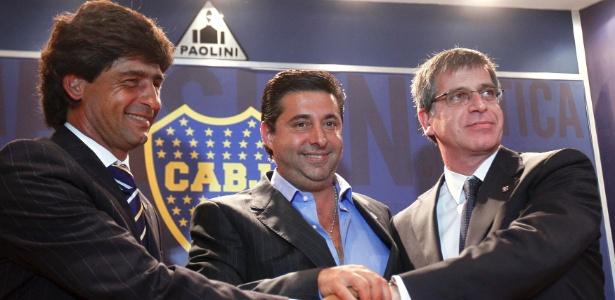 Daniel Angelici é o atual presidente do Boca Juniors - REUTERS/Marcos Brindicci