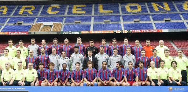 Grupo conquistou títulos importantes pelo clube catalão