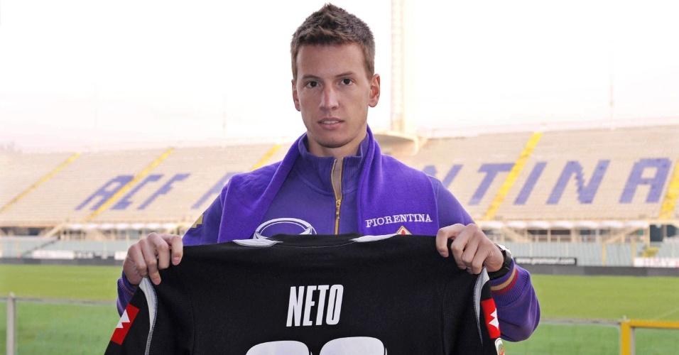 Goleiro Neto, da Fiorentina, está na pré-lista para as Olimpíadas de Londres 2012