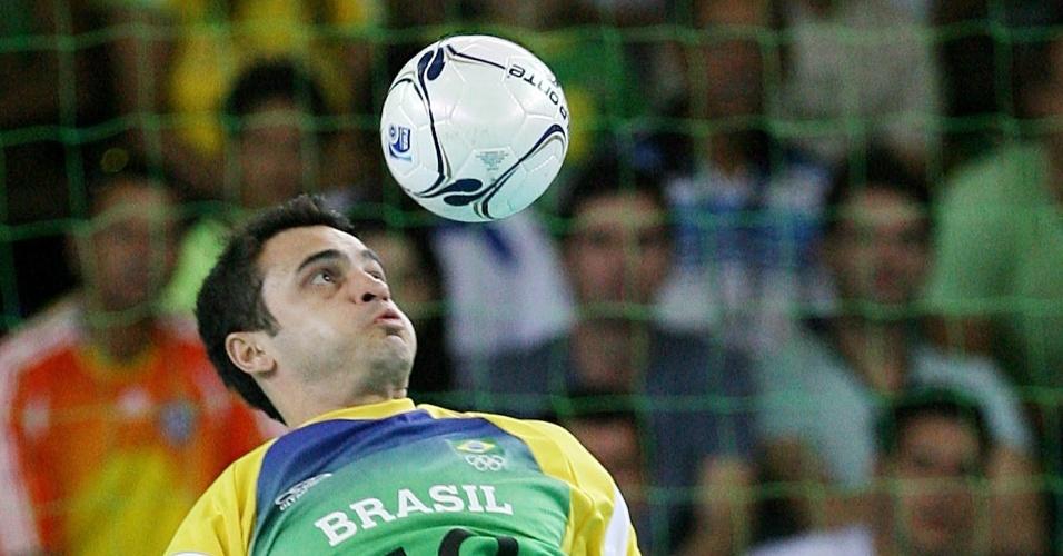 Futsal de Falcão foi uma das modalidades que utilizaram uniformes da Olympikus no Pan-2007