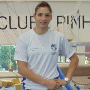 Laís Souza em entrevista ao UOL no ano passado; ginasta sofreu muito com lesões nos últimos anos