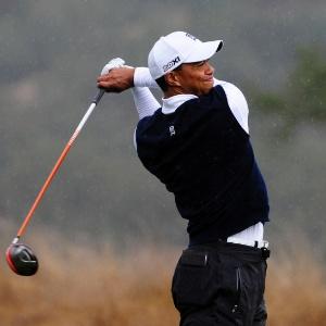Tiger Woods não jogou bem na primeira volta do torneio de San Martin - Robert Laberge/Getty Images/AFP