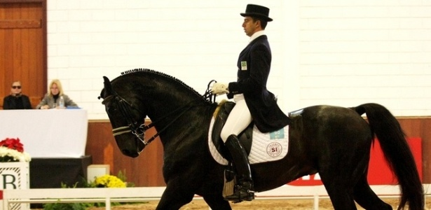 O cavaleiro Leandro Silva garantiu vaga para os Jogos Pan-Americanos de Guadalajara