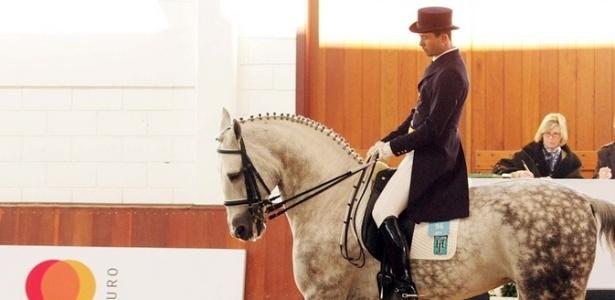 O cavaleiro Mauro Pereira Junior garantiu vaga para os Jogos Pan-Americanos de Guadalajara