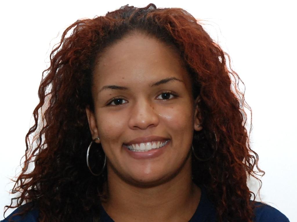 Aline Ferreira, atleta brasileira classificada para o Pan-2011 na luta
