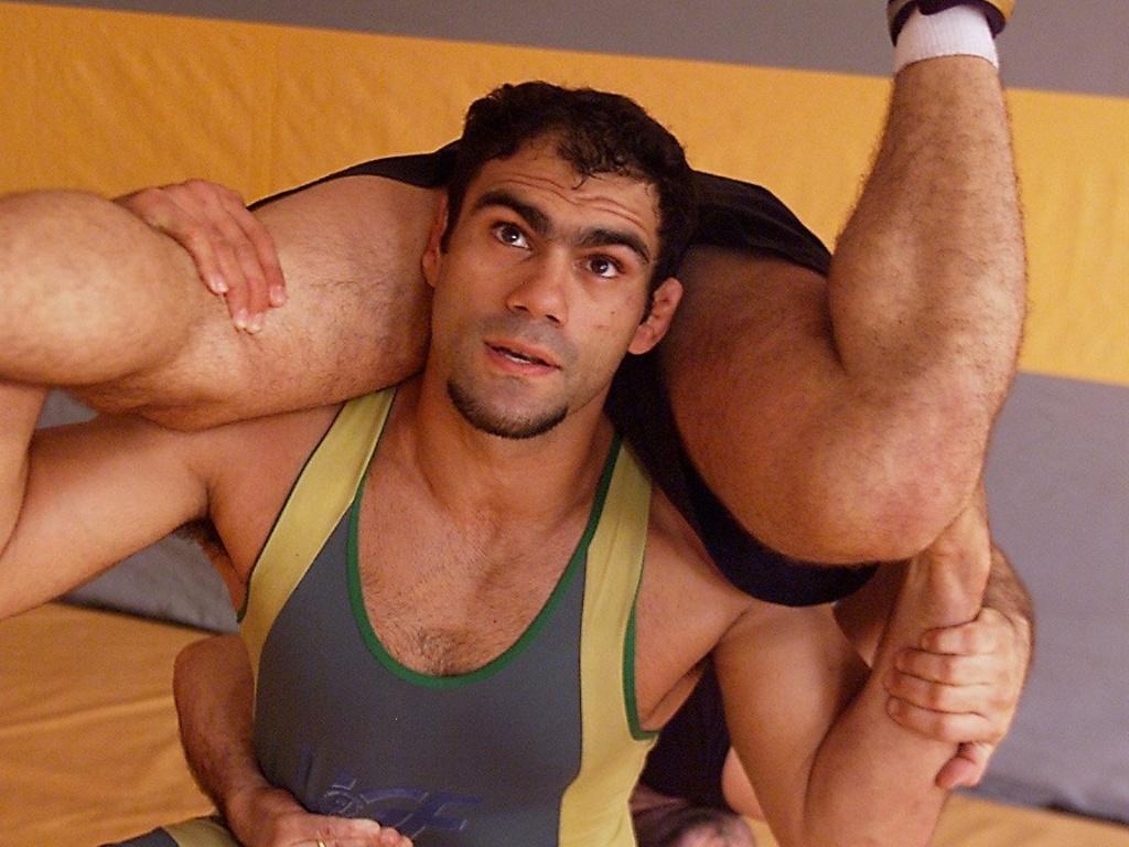 Antoine Jaoude, atleta brasileiro classificado para o Pan-2011 na luta