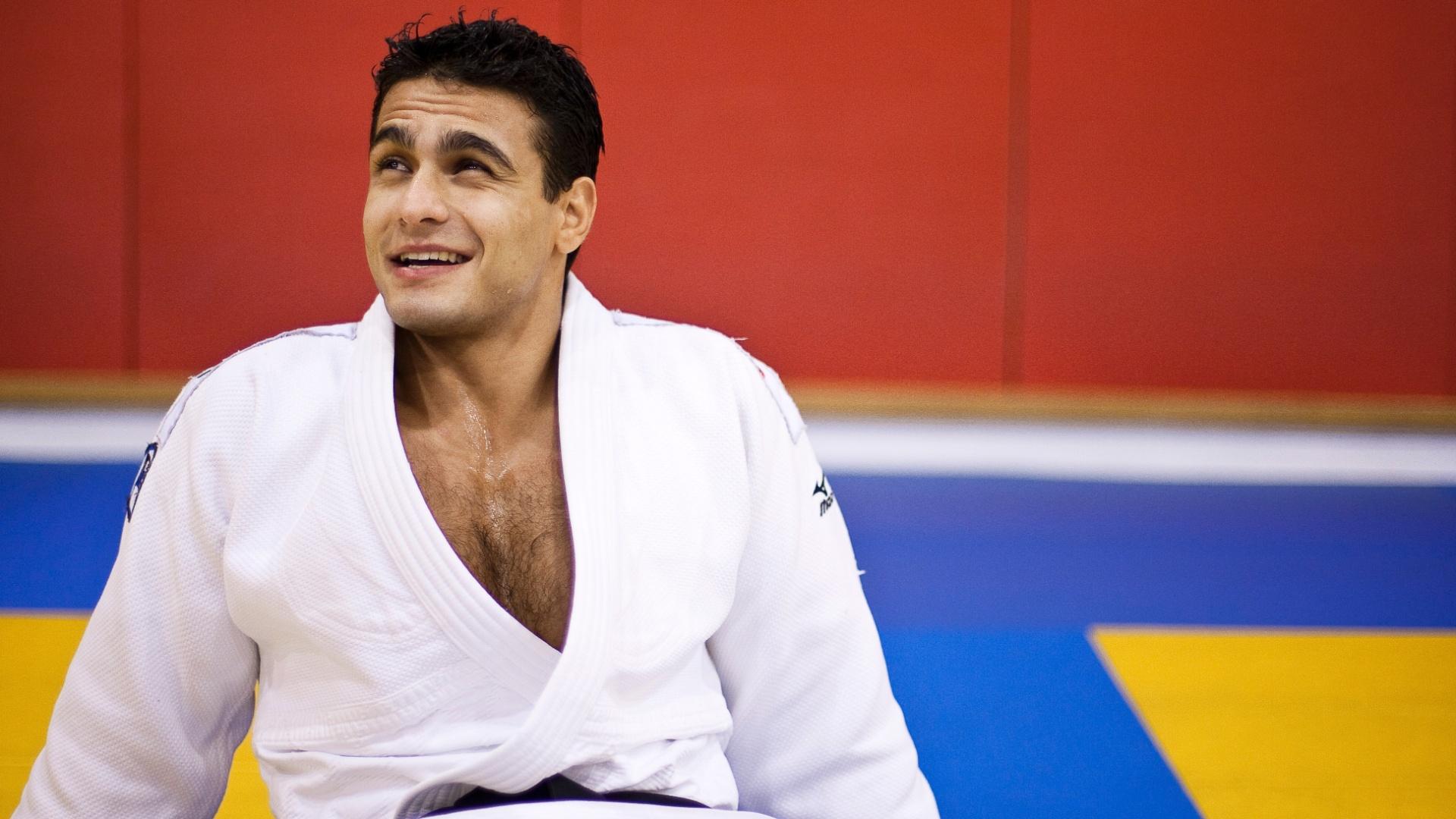 O judoca Leandro Guilheiro entra como um dos favoritos para a disputa da medalha de ouro em Guadalajara, no Pan-2007 ele ficou com a prata