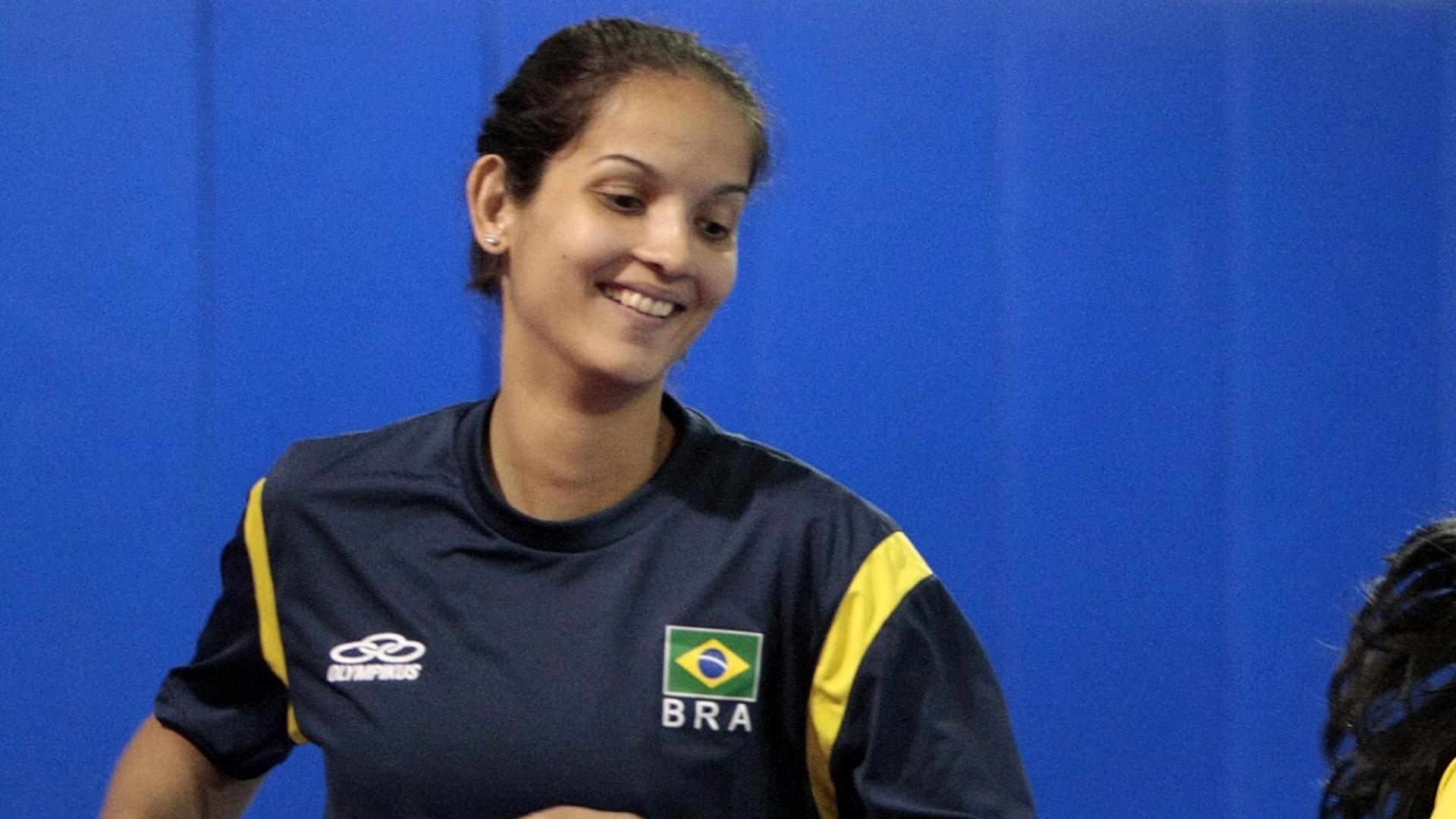 Raphaella Pereira, atleta do taekwondo, treina para o Pan de Guadalajara