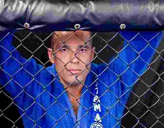 Royce Gracie negocia despedida no UFC Rio - Divulgação