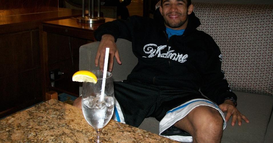 José Aldo, antes do UFC 129