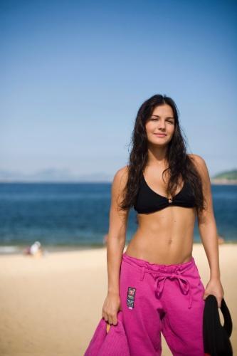 Kyra Gracie, pentacampeã mundial de jiu-jitsu
