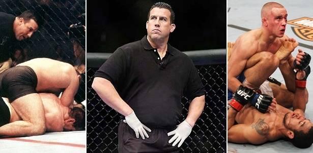 No UFC desde sua 2º edição, Big John é um dos nomes mais respeitados da arbitragem